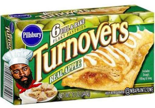 Chef Harden bakes