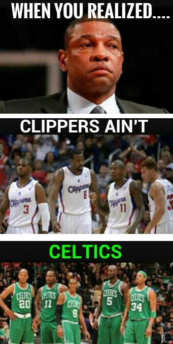 Clippers ain't Celtics