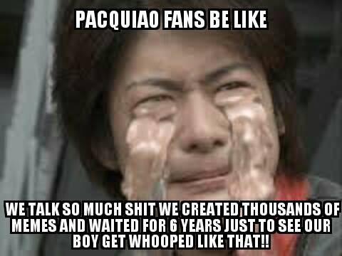 Crying fans