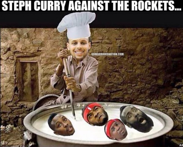 Curry cooking Rockets