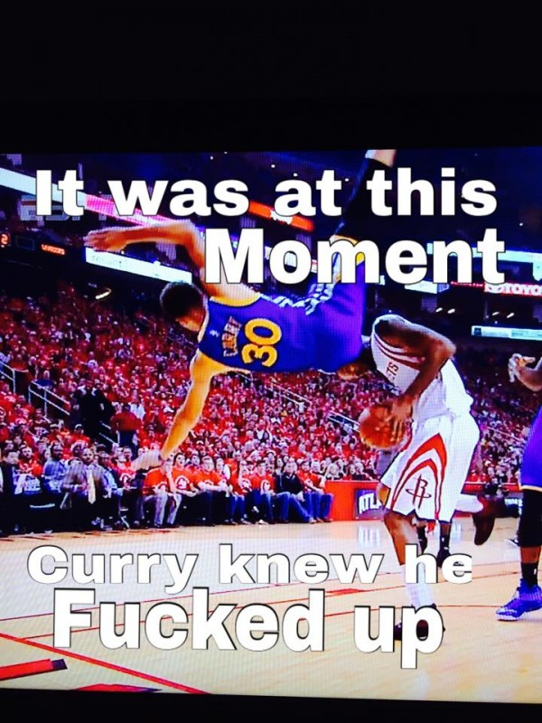 Curry knew
