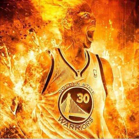 Curry on fire