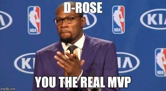 D-Rose real MVP