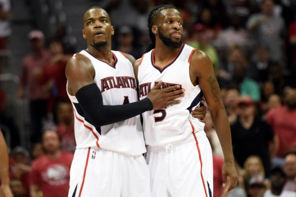 DeMarre Carroll, Paul Millsap