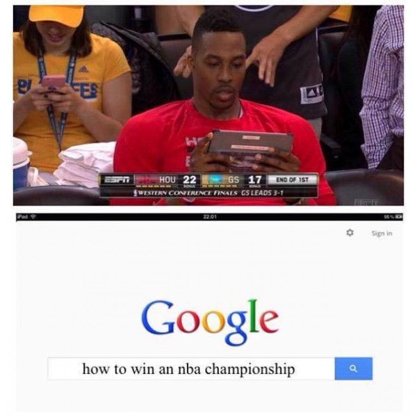 Dwight Howard Googling