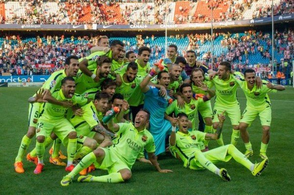 Barcelona beat Atletico Madrid 1-0 to clinch their 23 league title