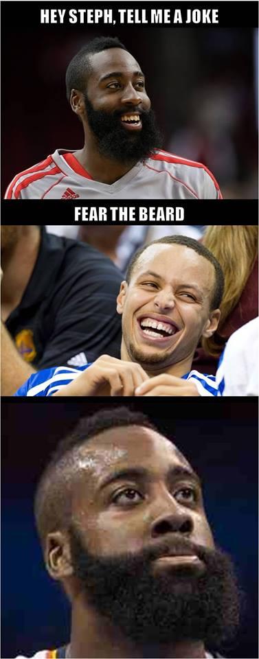 Fear the beard joke