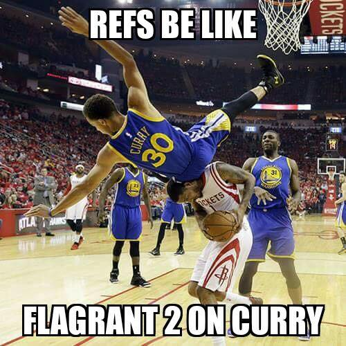 Flagrant on Curry