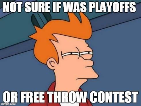 Free throw meme