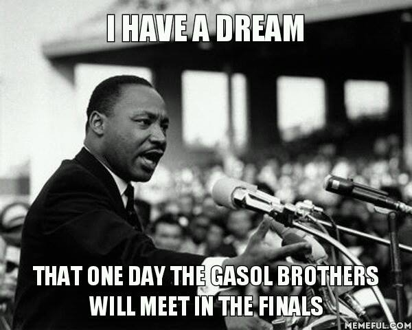 Gasol bros dream