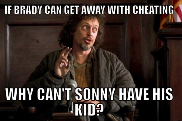 Give Sonny his kid