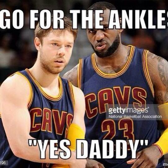 Go for the ankle Delly