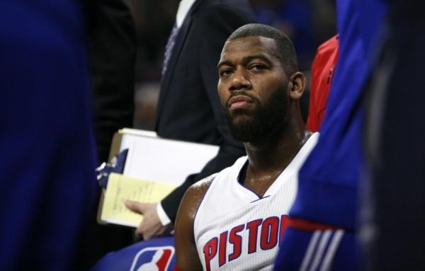 Greg Monroe of the Detroit Pistons
