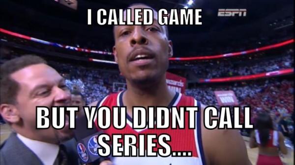 He didn't call series