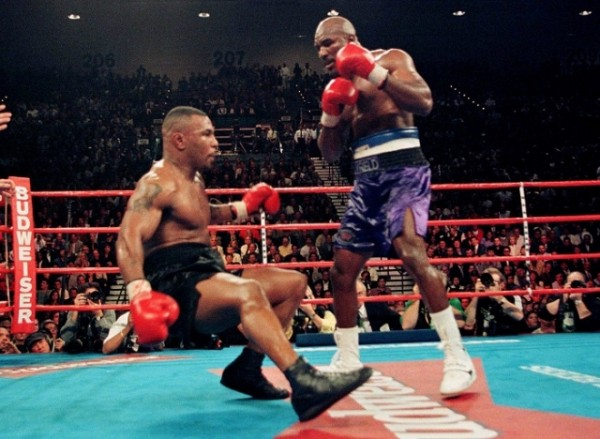 One of the knockdowns