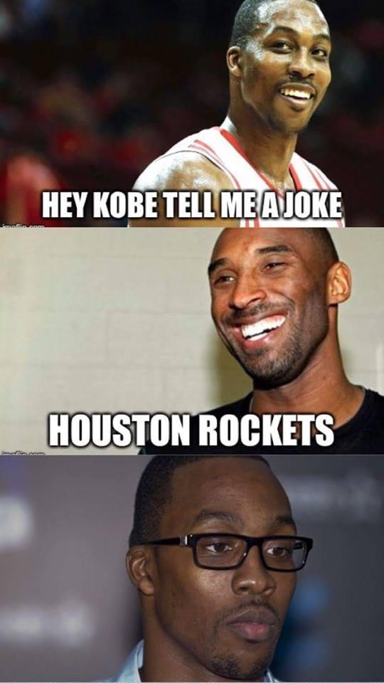 Houston Rockets joke