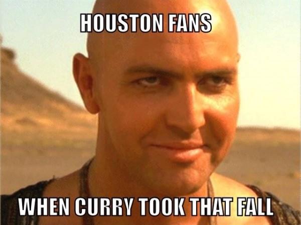 Houston fans when