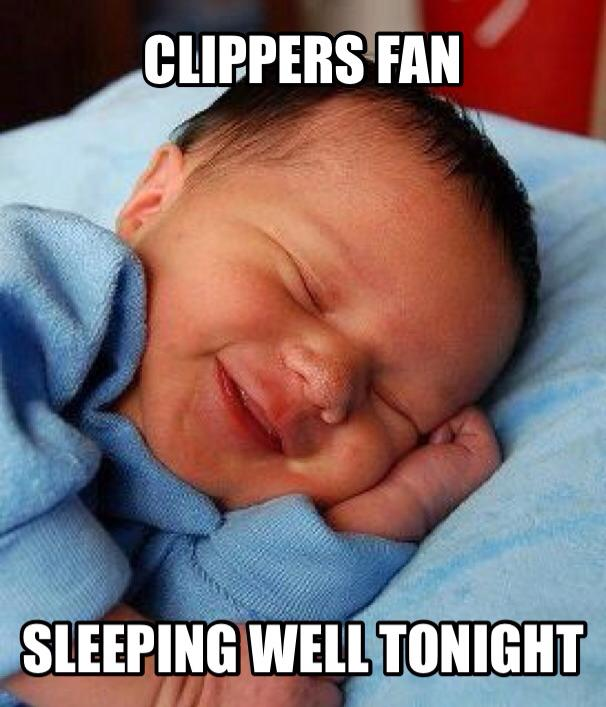 How Clippers fans are sleeping