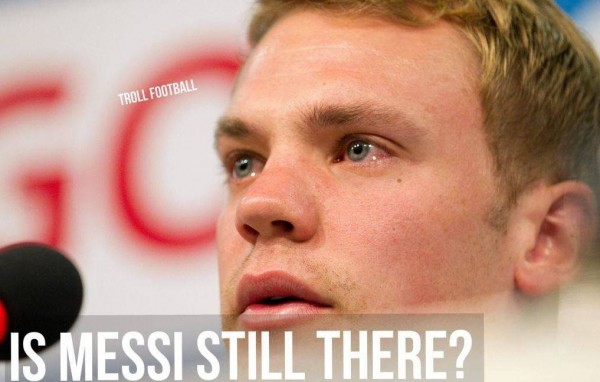 Is messi still there