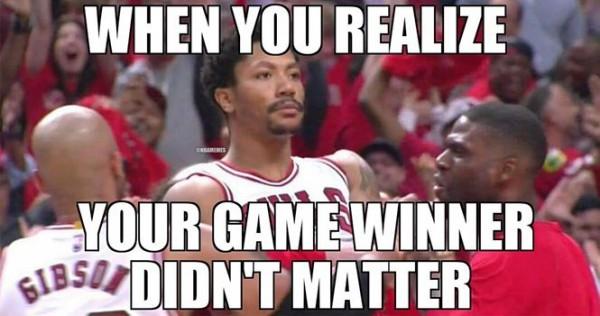 It didn't matter