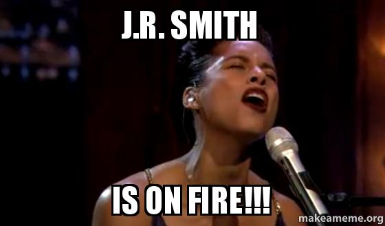 J.R. Smith is on fire 2