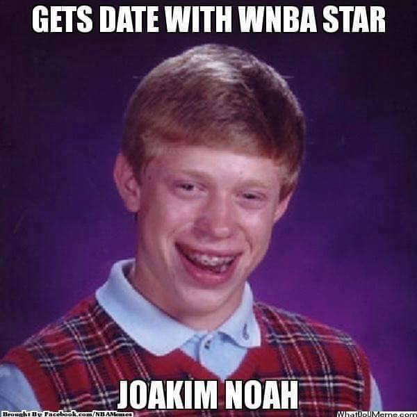 JOakim Noah WNBA Star