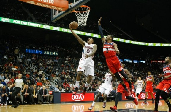 Jeff Teague, John Wall