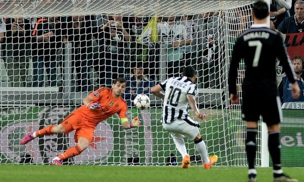 Juventus beat Real Madrid