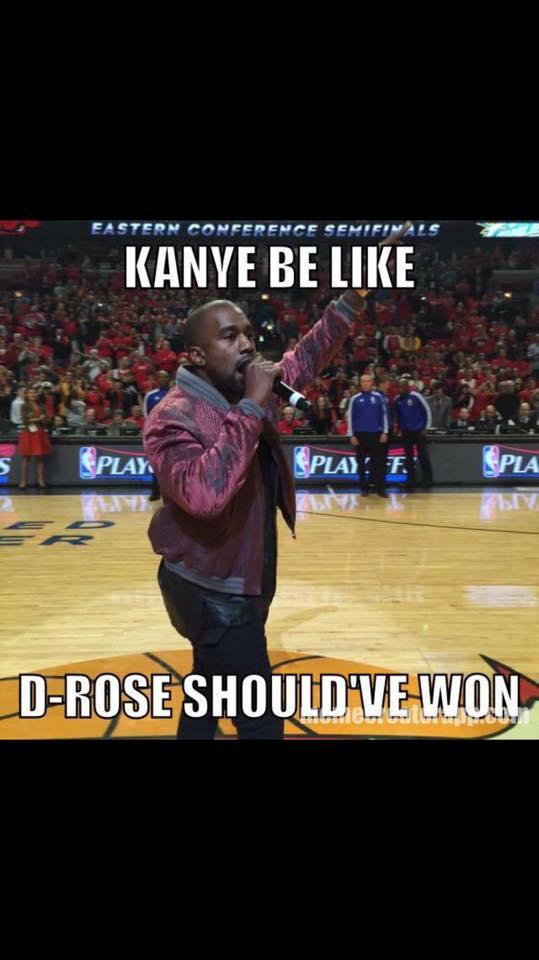Kanye be like