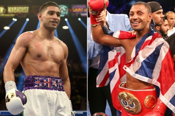 Kell Brook, Amir Khan