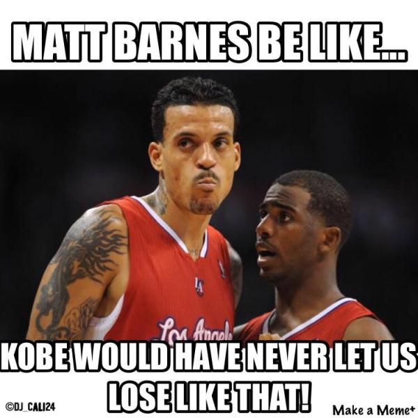 Kobe wouldn't