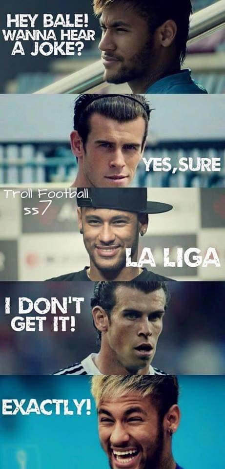 La Liga joke
