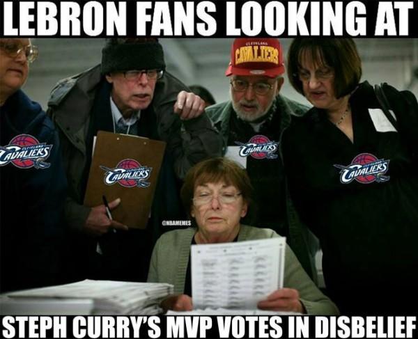 LeBron fans