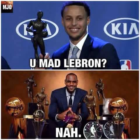 LeBron isn't mad