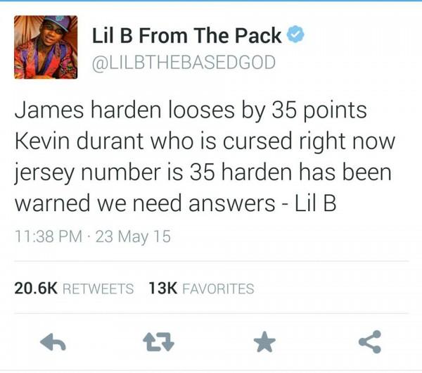 Lil B Curse