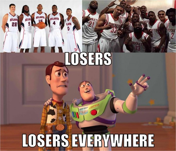 Losers everywhere