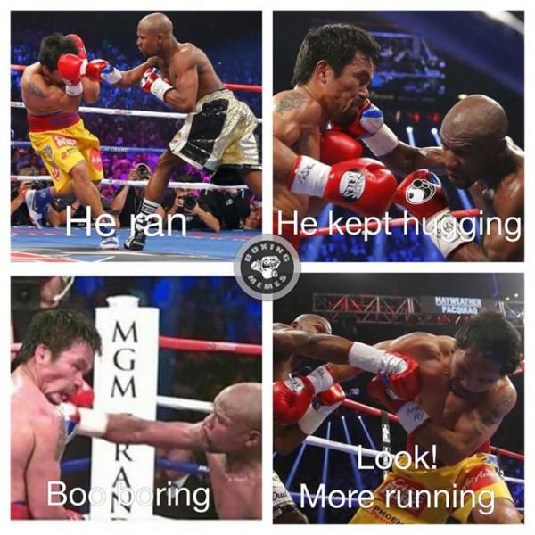 Mayweather vs Pacquiao memes
