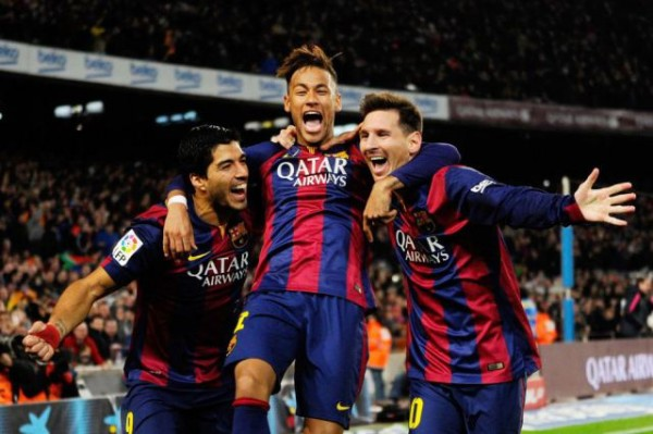 Lionel Messi, Neymar and Luis Suarez have scored a combined 79 league goals this season