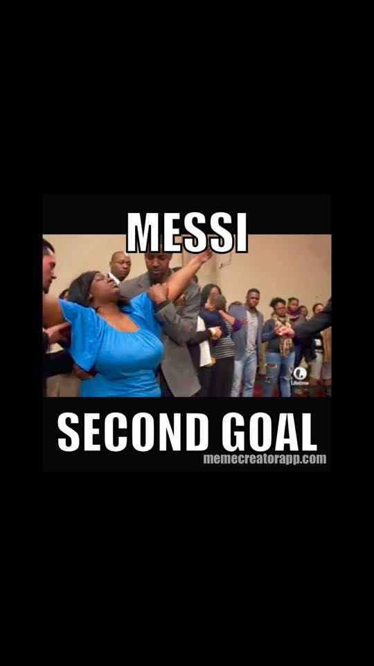 Messi second goal