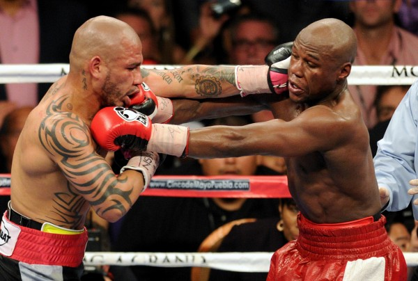 Miguel Cotto, Floyd Mayweather Jr.