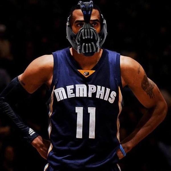 Mike Conley mask meme