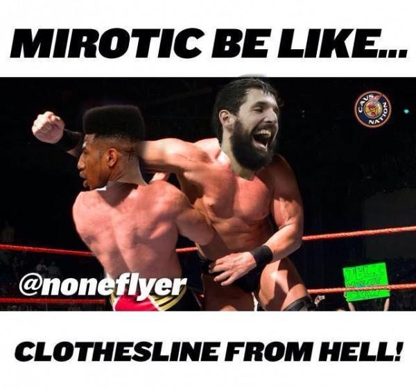 Mirotic WWE