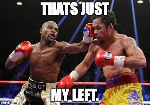 My left