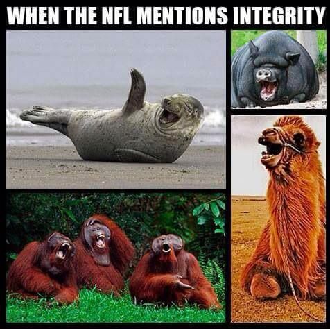 NFL Integrity joke