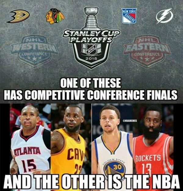 NHL vs NBA