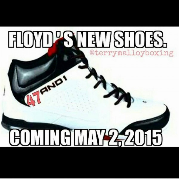 New Mayweather shoes