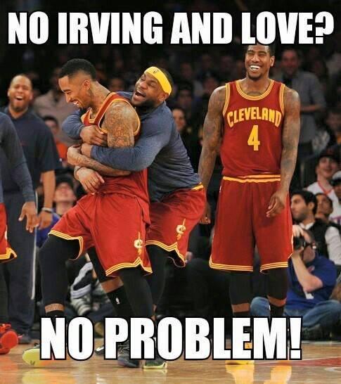 No Irving no love no problem