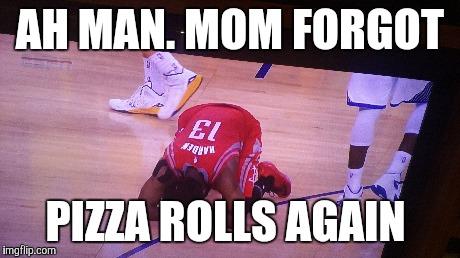 No Pizza rolls