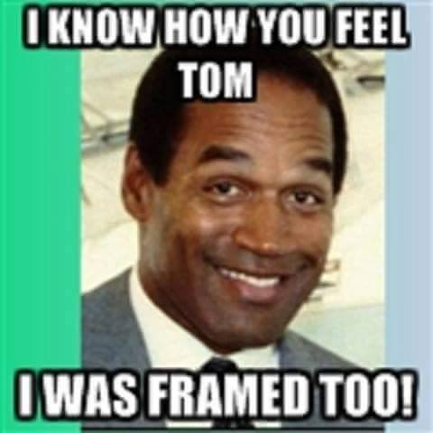 OJ was framed
