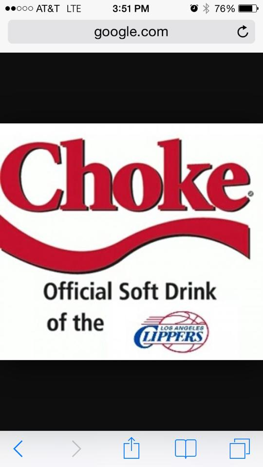 Official Clippers soft drink